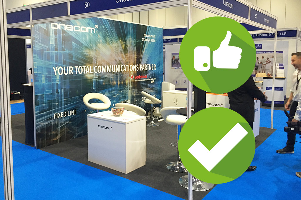 Exhibition Shell Scheme : Are pop ups really suitable for shell scheme stands u insite