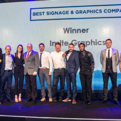 Insite Win Best Signage and Graphics Supplier